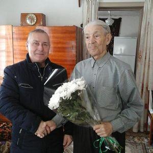 Поздравление ветерана Дряпина П. И.