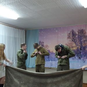 Игровая программа для молодежи «Солдаты удачи»