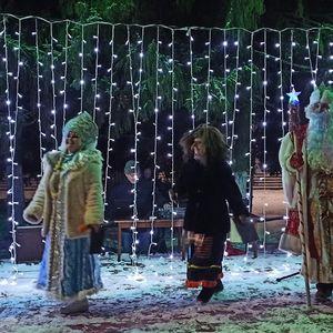 Огни новогодней ночи