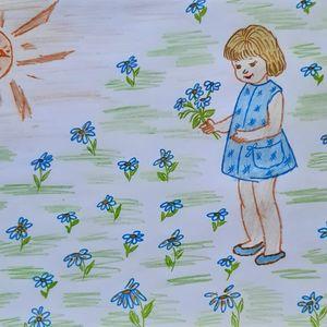 Выставка детских рисунков «Краски лета»