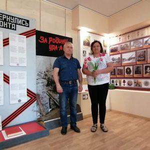Поздравили заведующего Воронцовским музеем