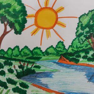 Выставка рисунков «Знаменские тропинки»