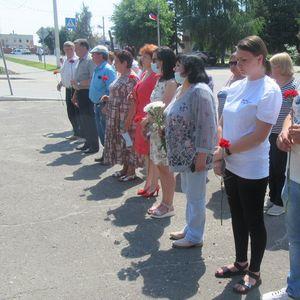 Общероссийская минута молчания в День памяти и скорби