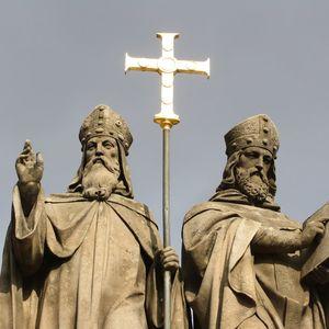 """Познавательная программа """"Святые Кирилл и Мефодий пред нами, их праздник великий и славный мы чтим!"""""""