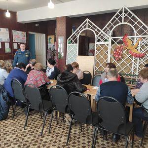 Производственное совещание работников КДУ Знаменского района
