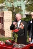 Поздравление ветеранов Долгановым А.В.