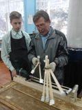 В столярной мастерской - работа с изобретением