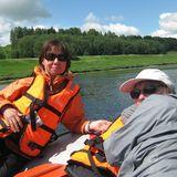 Сплав по реке Волга на рафтах, байдарках, катамаранах