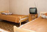 комната трехместная, удобства на этаже