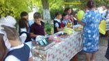 14 сентября 2016 года в школе прошла  благотворительная ярмарка «Белый цветок».