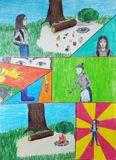 """1 место: Фариева Варвара, 6 """"Б"""" класс, СОШ № 2 г. Олонец (возрастная категория 4-6 класс)"""
