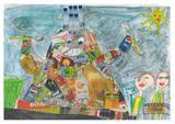 """2 место: Казанский Мирослав, 1 """"А"""" класс, СОШ 39 г. Петрозаводск (возрастная категория 1-3 класс)"""