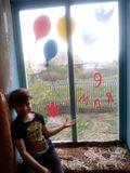 окна семьи Касакина Артема