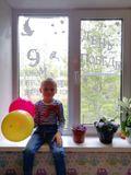 окна семьи Распопова Егора