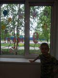 окна семьи Фисенко Степана