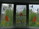 окна семьи Ураскиных