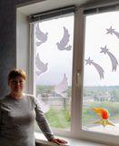 окно семьи Горюновых