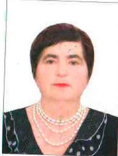 Ионина Валентина Саввовна (Данные на 1 января 2020 года)