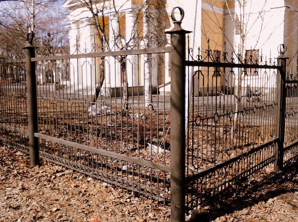 Петрозаводскстрой, ограда собора А. Невского