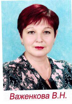 Важенкова Валентина Николаевна