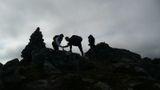 """На вершине. Гловинова Юлия. Норвегия, Лоотенские острова. Номинация """"Люди на скалах и в горах""""."""