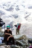 """Не пойду! Федотова Надежда. Кавказ, Безенги. Номинация """"Люди на скалах и в горах"""""""