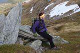 """Перерыфф или я устал и отдыхаю. Савчук Кирилл. Норвегия, Лофотенские острова. Номинация """"Люди на скалах и в горах""""."""