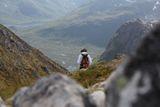 "Уйду я от вас № 2... Головинова Юлия. Норвегия, Лофотены. Номинация ""Люди на скалах и в горах"""