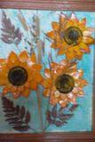 Подсолнухи (работа из полимерной глины)