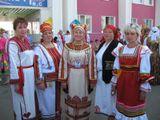 2014г  Педагогический коллектив  на Международном фестивале финно -угорских народов