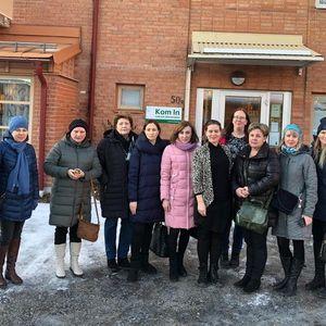 Social work in the focus of Karelia-Västerbotten exchange