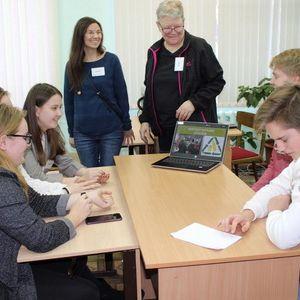 Делегация гимназии Люкселе побывала в Олонце в рамках школьного обмена