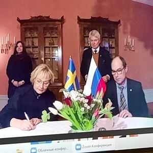 Подписан новый Протокол о сотрудничестве между Карелией и Вестерботтеном