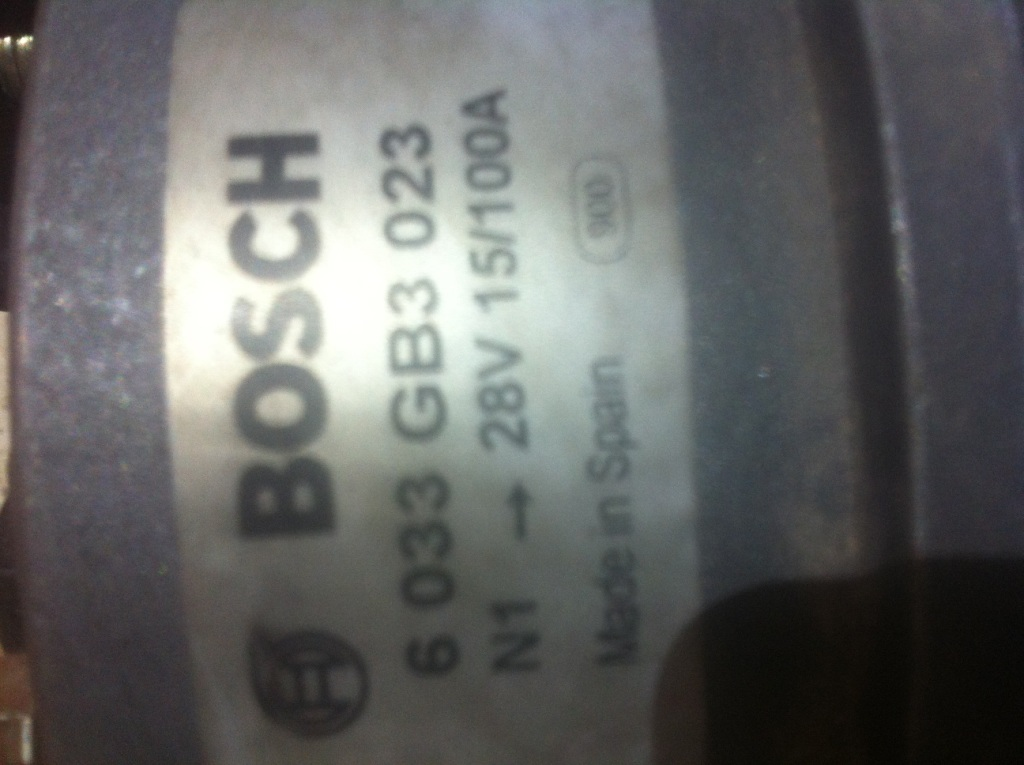 Генератор Bosch