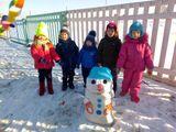 Нам нравится морозная и снежная пора!