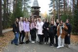 В рамках тематического классного часа студенты первого курса группы 16 посетили музей деревянного зодчества Малые Корелы