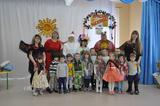 И давай всем детским садом Веселиться, петь, гулять! Масленицу – светлый праздник, Надо вместе провожать!
