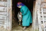 жительница деревни Сяргилахта