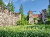 Недостроенная домна и литейный двор