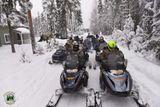 Снегоходное сафари в Карелии