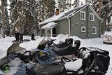 Сафари на снегоходах в Карелии