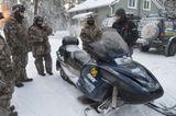 Туры на снегоходах в Карелии
