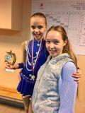 Анжелика Крылова с тренером Анастасией Семеновой