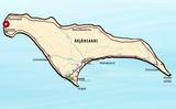 Карта острова Арьянсаари