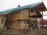 Каркасный дом близок к завершению