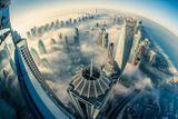 23. Дубай с высоты птичьего полета. Фотограф Sebastian Optiz.