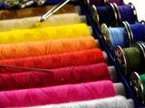 Швейные нитки, иглы и булавки