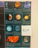 В классе преподавателя астрономии