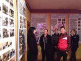 В музее воинской части.