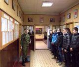 Студенты группы ПБ-39 знакомятся  с размещением и бытом военнослужащих